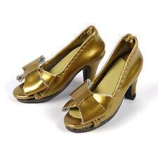 1/6 Cy Girl, ZC Girl, Kumik, TTL, & Nouveau Toys Female Gold Ribbon Heel Shoes