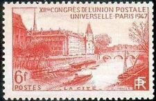 """FRANCE TIMBRE STAMP N°782 """"12eme CONGRES, LA CITE"""" NEUF X TB"""