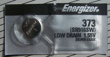 1 Energizer 373 SR916SW  Silver Oxide Watch Battery 1.55V Fast USA Shipping