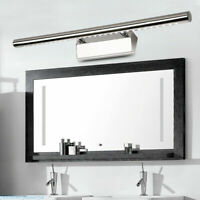 Stainless Steel LED Bathroom Mirror Wall Light Front Picture Bar Lamp White 5W