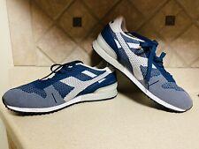 DIADORA TITAN WEAVE Men Shoes Sneakers Color Blue&White Size 11
