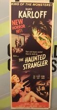"KENT, JEAN"" The Haunted Strangler"" 1958 ORIGINAL MOVIE INSERT"