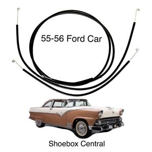 1955 1956 Ford Car Heater Vent Cable KIT