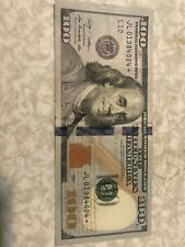 $100 *Star Note* 2009 One Hundred Dollars Federal Reserve Paper Money JL01384024