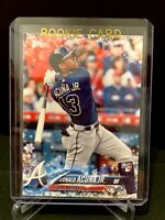 2018 Topps Holiday RC Rookie RONALD ACUNA JR. Rookie Card -Braves