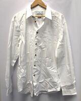 Men's VIVIENNE WESTWOOD MAN White Cotton Long Sleeve Shirt Size 58  - H41