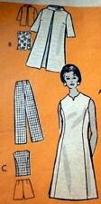 *LOVELY VTG 1970s DRESS & PANTS Sewing Pattern 14/36