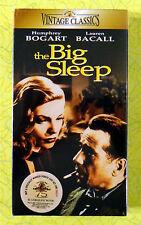 The Big Sleep ~ New Vhs Movie ~ Humphrey Bogart Lauren Bacall ~ Sealed Video