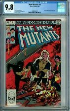 NEW MUTANTS 4 CGC 9.8 WHITE PAGES NEW NON-CIRCULATED CGC CASE MARVEL 1983