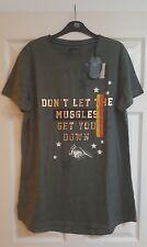 Women's Ladies Harry Potter Nightie Muggles Get You Down Nightshirt Large 14 16