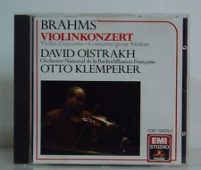 CD Brahms Brahms David Oistrakh Otto Klemperer