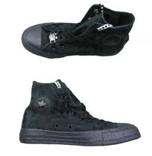 New Converse X CTAS Hi Miley Cyrus Womens Size 8 Black Glitter 563723C Sneakers