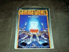 TSR - Gamma World - GAMMA WORLD  BETA PRINCIPLE GW7 #7510 supplement RPG