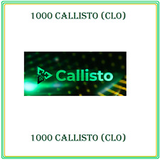 1,000 Callisto Network (1000 CLO) CRYPTO MINING-CONTRACT, Crypto Currency