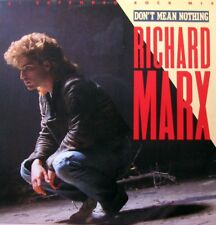 """RICHARD MARX Don't Mean Nothing (Extended Rock Mix) 12"""" Single    SirH70"""