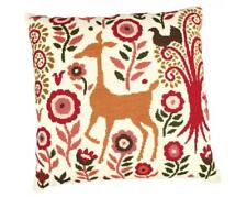 RTO Counted Cross Stitch Kit  -  Deer in the Fairy Forest- cushion front or pict