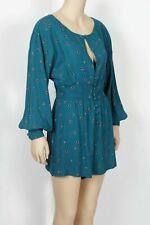 """Free People """"Love Grows"""" Romper-Size X-Small"""
