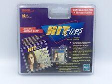 HASBRO Tiger 2002 HIT CLIPS Micro Music NEUF VANESSA CARLTON «A THOUSAND MILES»