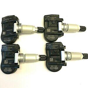 52933-2M000 Hyundai Kia TPMS Tire Air Pressure Monitor Sensors Set-4 Oem