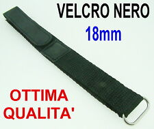 BRACELET MONTRE SCRATCH NOIR 18mm 18 mm NOUVEAU - BLACK WATCH STRAPS SUB SPORT