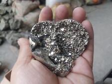 68 mm PYRITE HEART BALL HIGH GRADE PERU