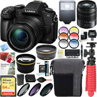 Panasonic LUMIX G85 Mirrorless Digital Camera w/ 12-60mm & 45-150mm Lens Kit