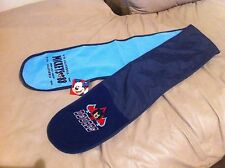 """NEW Disney Mickey Mouse Scarf Blue 51.5 """" L"""
