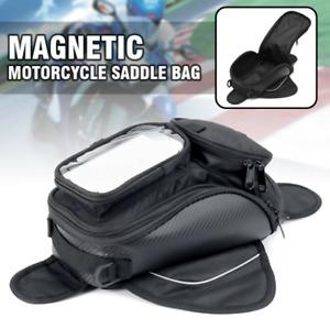 Borsa Borsello Moto Magnetica Serbatoio Estensibile Calamite Porta Phone Pouch