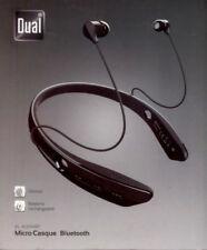Écouteurs tours de cou commandes de lecture bluetooth sans fil