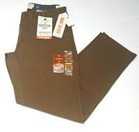 Men's Dockers Downtime Khaki Brown Slim Tapered Fit Smart 360 Flex Pants