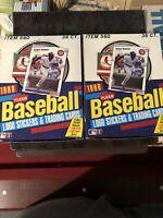 (2 Case Fresh) BRAND NEW SEALED - 1988 FLEER BASEBALL WAX BOX 36 PACKS Each