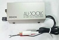 AU-300LC Step Up Transformer DENON MC Moving Coil Phono Cartridge Used Excellent
