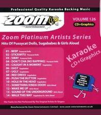 Zoom KARAOKE CDG Platino VOLUME 126 PUSSYCAT Dolls, Sugababes & G. ad alta voce