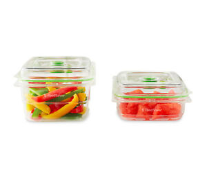 Sunbeam VS0640 Reusable FoodSaver® Containers 2 Piece Set for FoodSaver Machines
