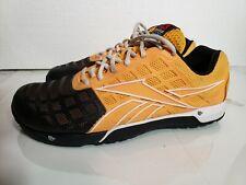 Reebok crossfit CF74 shoes MEN'S 9.5 yellow/black  JJ47DLJJ00514. #108062621