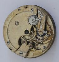 XFINE LONGINES MANUAL WIND POCKET WATCH CHRONOMETER MOVEMENT FOR REPAIR/PARTS