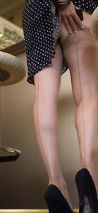 GERBE CARNATION FULLY FASHIONED STOCKINGS Size 2, nude