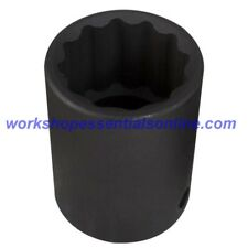 "1/2"" Drive 24mm Impact Socket 12 Point Trident T933024"