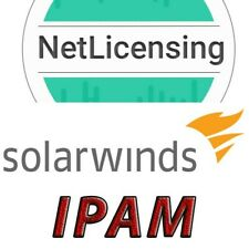 Solarwinds IP Address Manager License, Perpetual/Full Feature License