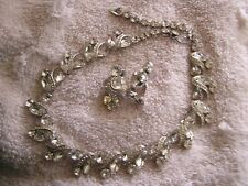 Beautiful Vintage Kramer Necklace  with Matching Earrings