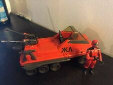 Vintage Action Force GI Joe SHADOW TRAK (Hasbro 1981) avec Red Vulture