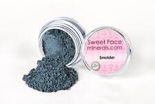 SMOLDER EYE SHADOW Mineral Makeup Dark Gray Sheer Bare Skin Brow Liner Powder