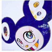 """Takashi Murakami """"And Then... All Things Good and Bad"""" ED.300 DOB blue authentic"""