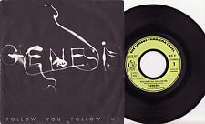 "GENESIS - FOLLOW YOU, FOLLOW ME Very rare 1978 french 7"" P/S Single Release! EX+"