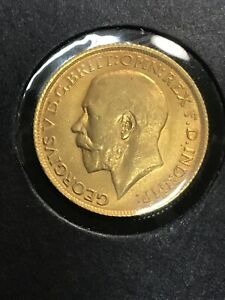 1911 • British Gold Sovereign • Brilliant Uncirculated 8.01 Grams Lustrous Coin!