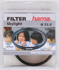 Hama Skylight- and Protection Filter 2-fach Remuneration for 52 mm Filter