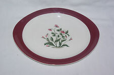 """Wedgwood Retro Mayfield Ruby 13"""" Serving Platter Meat Dish Turkey Plate"""