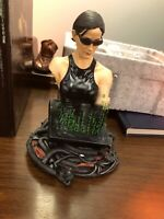 THE MATRIX: TRINITY mini bust statue Gentle Giant 2002 4943/8000