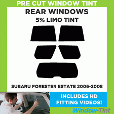 SUBARU FORESTER ESTATE 2006-2008 5% LIMO REAR PRE CUT WINDOW TINT