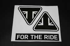 #347 Triumph For The Ride Bike Moto Aufkleber Sticker Decal Autocollant Bapperl
